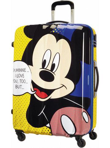"""American Tourister Walizka """"Mickey Pop"""" ze wzorem - 52,5 x 75 x 31 cm"""