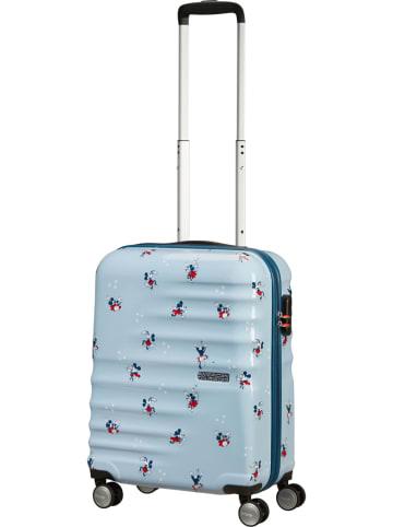 """American Tourister Walizka """"Spin"""" w kolorze błękitnym - 40 x 55 x 20 cm"""