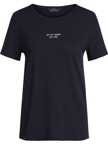 Set Shirt in Schwarz