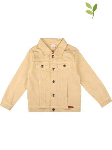 Walkiddy Kurtka dżinsowa w kolorze żółtym