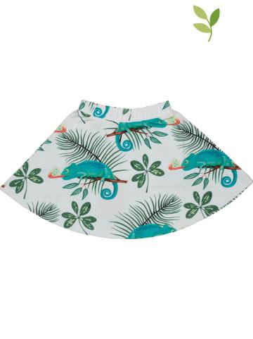 Walkiddy Spódnica w kolorze turkusowo-białym