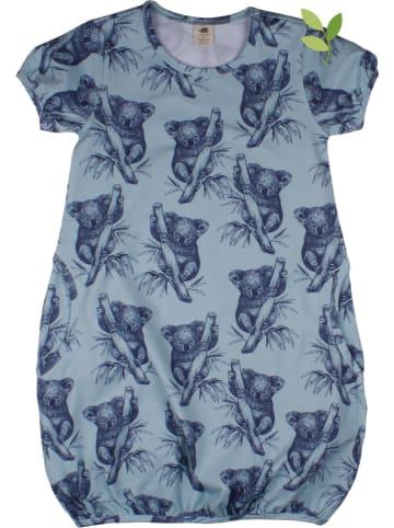 Walkiddy Sukienka w kolorze błękitnym