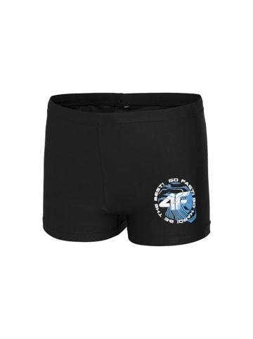 4F Kąpielówki w kolorze czarnym