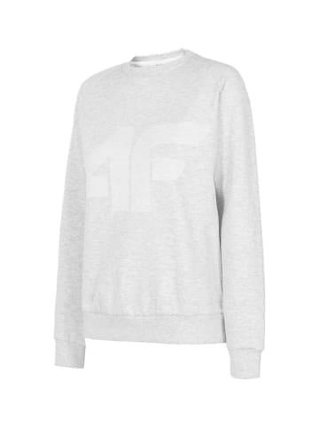 4F Bluza w kolorze jasnoszarym
