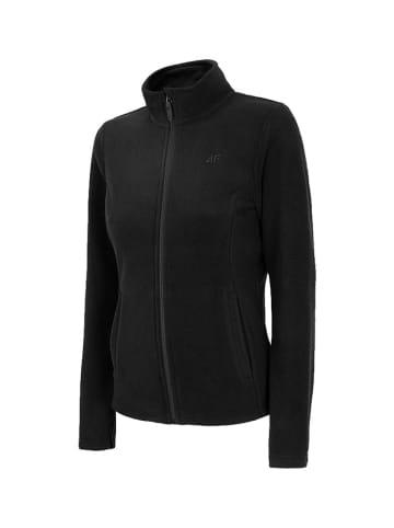 4F Bluza polarowa w kolorze czarnym