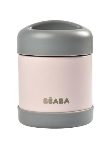 "Beaba Pojemnik - termos na posiłek ""Dark mist/Light pink"" - 300 ml"