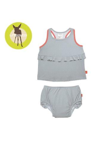 Lässig Dwuczęściowy strój z wkładką chłonną do pływania - UV 50+