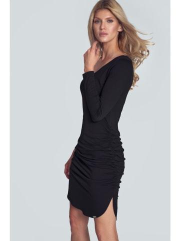 Figl Sukienka w kolorze czarnym