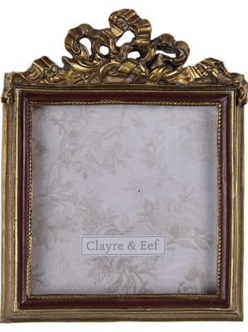 Clayre & Eef Fotolijst goudkleurig - (B)9 x (H)11 cm