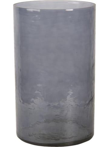 Clayre & Eef Windlicht grijs - (H)25 x Ø 15 cm
