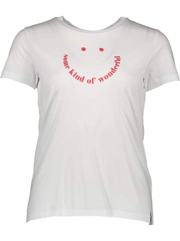 """Khujo Koszulka """"Francesca"""" w kolorze białym"""