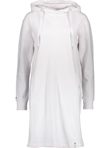 """Khujo Sukienka dresowa """"Halouma"""" w kolorze białym"""