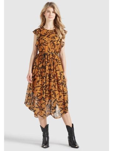 """Khujo Sukienka """"Anisa"""" w kolorze jasnobrązowym"""