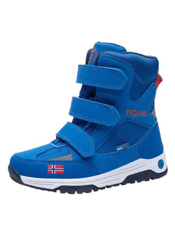 """Trollkids Winterboots """"Lofoten"""" in Blau"""