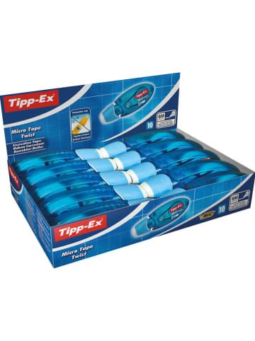 """TippEx Korrekturroller """"Tipp-Ex Micro Tape Twist"""" - 10 Stück à 8 m"""