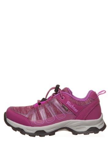 Richter Shoes Buty trekkingowe w kolorze fuksji