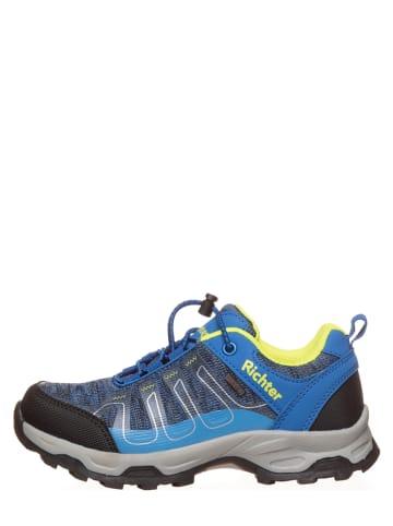 Richter Shoes Buty trekkingowe w kolorze niebieskim