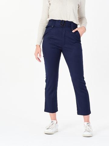 Amichi Spodnie w kolorze granatowym