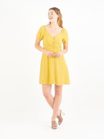 Amichi Sukienka w kolorze żółtym