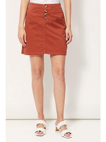 Amichi Spódnica w kolorze rdzawoczerwonym