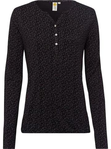 Roadsign Koszulka w kolorze czarnym ze wzorem