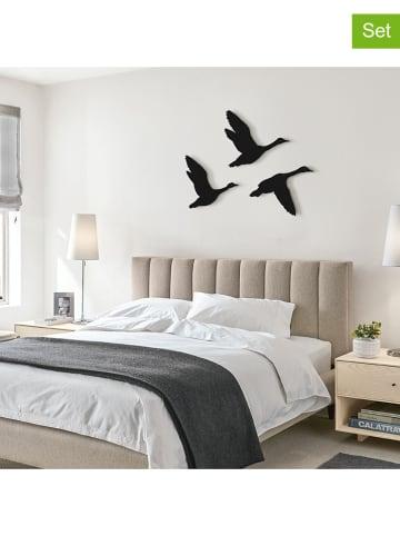 """Pandora Trade 3er-Set: Wanddekore """"Flying birds"""""""