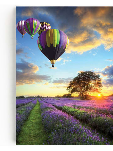 "Pandora Trade Leinwanddruck ""Color of life"" - (B)60 x (H)90 cm"