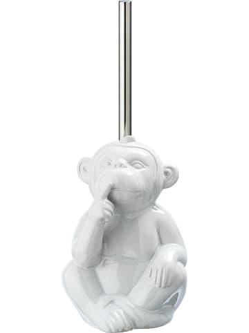 """Wenko Szczotka WC """"Monkey Quiet"""" w kolorze białym - (S)15 x (W)69 x (G)20 cm"""