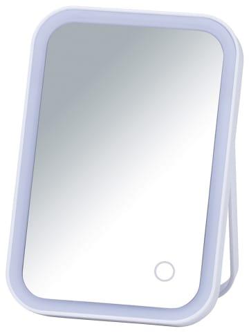 """Wenko Lusterko kosmetyczne LED """"Arizona"""" w kolorze białym - (S)15 x (W)22 x (G)4 cm"""