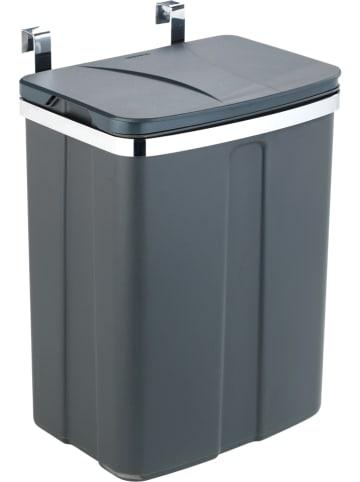 Wenko Kosz w kolorze antracytowym na śmieci na drzwi - 12 l