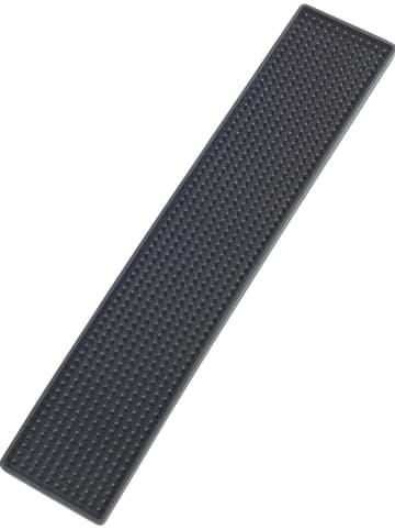 """Wenko Mata ociekowa """"Slim"""" w kolorze czarnym do naczyń - (D)42 x (S)8 cm"""