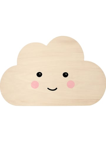 "Reer Ledwandlamp ""Lumilu Silhouette Light - Cloud"" beige - (H)23 cm"