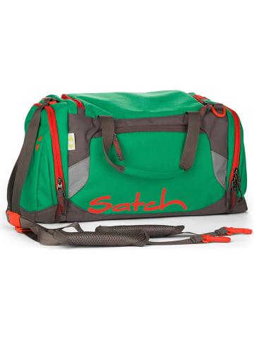 """Satch Sporttas """"Duffles - Green Steel"""" groen - 25 l"""