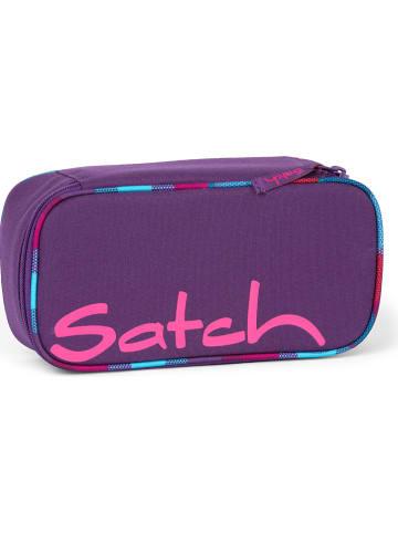 "Satch Federmäppchen ""Sunny Beats"" in Lila - (B)22 x (H)6 x (T)10 cm"