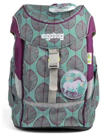 """Ergobag Plecak """"Mini - Schniekalabim"""" w kolorze fioletowo-turkusowym - 10 l"""