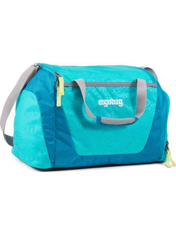 "Ergobag Sporttas ""Hula Hoopbeer"" blauw/lichtblauw - 20 l"
