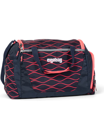 "Ergobag Sporttas ""Surfbeer"" donkerblauw/rood - 20 l"