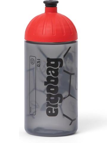 Ergobag Drinkfles grijs/rood - 500 ml