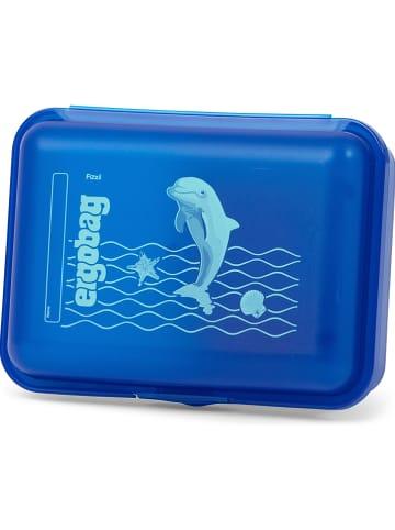 Ergobag Pojemnik w kolorze niebieskim na lunch - 18 x 7 x 13 cm