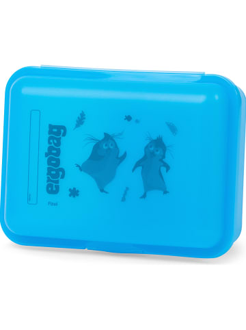 Ergobag Pojemnik w kolorze błękitnym na lunch - 18 x 7 x 13 cm