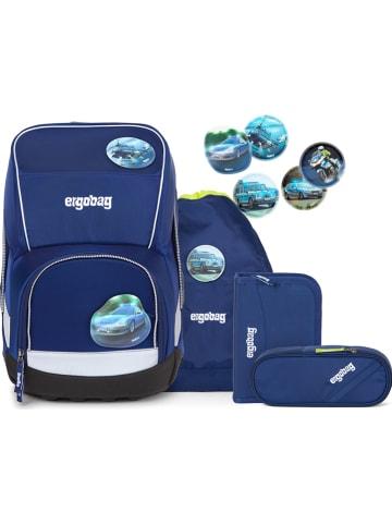 Ergobag 5-częściowy zestaw w kolorze niebieskim