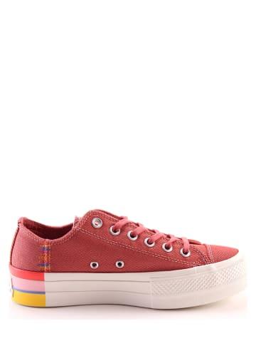 "Converse Sneakers ""Chuck Taylor All Star Lift"" koraalrood"