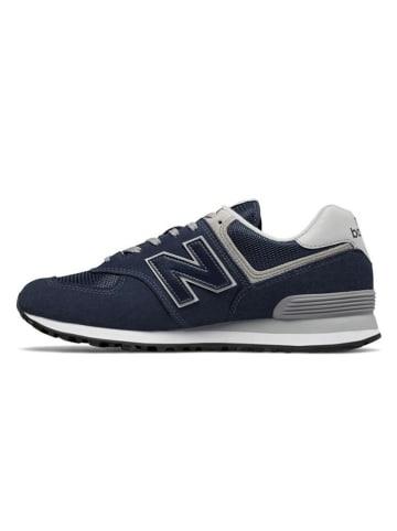 "New Balance Sneakers ""574"" donkerblauw"