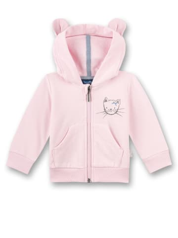 Sanetta Kidswear Sweatjacke in Rosa