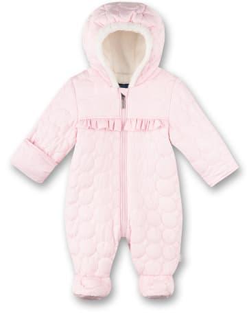 Sanetta Kidswear Kombinezon zimowy w kolorze jasnoróżowym