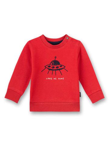 Sanetta Kidswear Sweatshirt in Rot