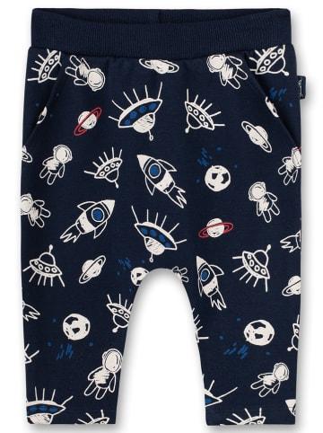Sanetta Kidswear Spodnie dresowe w kolorze granatowym