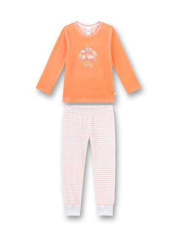 Sanetta Pyjama abrikooskleurig