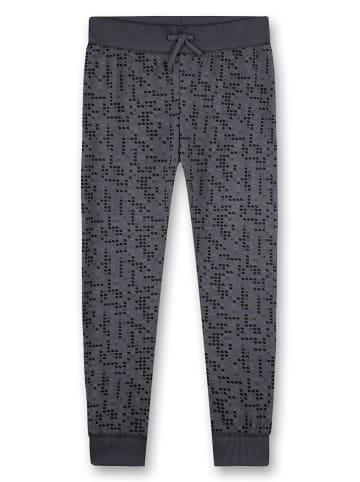 Sanetta Spodnie piżamowe w kolorze antracytowym