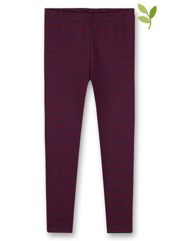 Sanetta Spodnie piżamowe w kolorze czerwono-granatowym